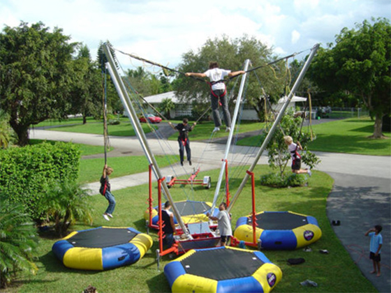Virginia Beach Bungee Trampoline | Atlantic Fun Park