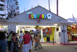 Atlantic Fun Park Entrance